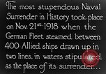 Image of Surrender of German fleet Europe, 1918, second 6 stock footage video 65675043160