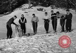 Image of Ski Patrol School Berchtesgaden Germany, 1957, second 6 stock footage video 65675043161