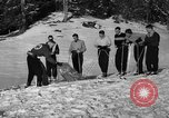 Image of Ski Patrol School Berchtesgaden Germany, 1957, second 8 stock footage video 65675043161