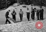 Image of Ski Patrol School Berchtesgaden Germany, 1957, second 10 stock footage video 65675043161