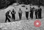Image of Ski Patrol School Berchtesgaden Germany, 1957, second 11 stock footage video 65675043161