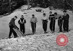 Image of Ski Patrol School Berchtesgaden Germany, 1957, second 12 stock footage video 65675043161