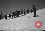 Image of Students receive instruction at U.S. Ski Patrol School Berchtesgaden Germany, 1957, second 12 stock footage video 65675043162