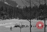 Image of Boys and girls at U.S. Ski Patrol School Berchtesgaden Germany, 1957, second 3 stock footage video 65675043165