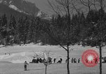 Image of Boys and girls at U.S. Ski Patrol School Berchtesgaden Germany, 1957, second 4 stock footage video 65675043165