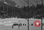 Image of Boys and girls at U.S. Ski Patrol School Berchtesgaden Germany, 1957, second 6 stock footage video 65675043165