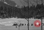 Image of Boys and girls at U.S. Ski Patrol School Berchtesgaden Germany, 1957, second 11 stock footage video 65675043165
