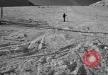 Image of ski patrolmen rescue skier Garmisch-Partenkirchen Germany, 1965, second 3 stock footage video 65675043203