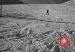 Image of ski patrolmen rescue skier Garmisch-Partenkirchen Germany, 1965, second 4 stock footage video 65675043203