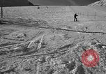 Image of ski patrolmen rescue skier Garmisch-Partenkirchen Germany, 1965, second 7 stock footage video 65675043203