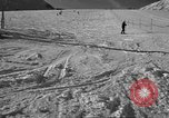 Image of ski patrolmen rescue skier Garmisch-Partenkirchen Germany, 1965, second 8 stock footage video 65675043203
