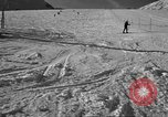 Image of ski patrolmen rescue skier Garmisch-Partenkirchen Germany, 1965, second 9 stock footage video 65675043203
