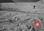Image of ski patrolmen rescue skier Garmisch-Partenkirchen Germany, 1965, second 11 stock footage video 65675043203