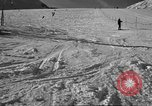 Image of ski patrolmen rescue skier Garmisch-Partenkirchen Germany, 1965, second 12 stock footage video 65675043203