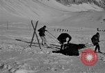 Image of Ski patrol personnel Garmisch-Partenkirchen Germany, 1965, second 6 stock footage video 65675043207