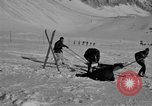 Image of Ski patrol personnel Garmisch-Partenkirchen Germany, 1965, second 7 stock footage video 65675043207
