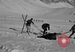 Image of Ski patrol personnel Garmisch-Partenkirchen Germany, 1965, second 9 stock footage video 65675043207