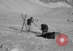 Image of Ski patrol personnel Garmisch-Partenkirchen Germany, 1965, second 11 stock footage video 65675043207