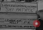 Image of Ski patrolmen Garmisch-Partenkirchen Germany, 1965, second 1 stock footage video 65675043208