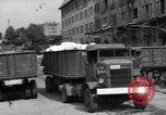 Image of Workers unload goods Berlin Germany, 1948, second 11 stock footage video 65675043217