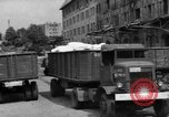 Image of Workers unload goods Berlin Germany, 1948, second 12 stock footage video 65675043217
