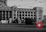 Image of Military trucks Seoul Korea, 1954, second 4 stock footage video 65675043232