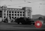 Image of Military trucks Seoul Korea, 1954, second 5 stock footage video 65675043232