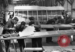 Image of Aircraft assembly factory France, 1918, second 1 stock footage video 65675043237
