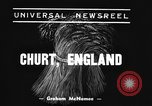 Image of Mechanical plow Churt England, 1938, second 2 stock footage video 65675043244