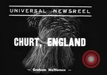 Image of Mechanical plow Churt England, 1938, second 3 stock footage video 65675043244