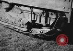 Image of Mechanical plow Churt England, 1938, second 9 stock footage video 65675043244