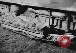 Image of Mechanical plow Churt England, 1938, second 10 stock footage video 65675043244