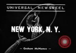 Image of winter clothing fashion show New York United States USA, 1938, second 2 stock footage video 65675043246