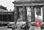 Image of Hitler speaks at 1936 Olympics in Berlin Berlin Germany, 1936, second 5 stock footage video 65675043250