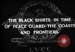 Image of Italian Black Shirt Guards Italy, 1929, second 1 stock footage video 65675043260