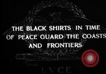 Image of Italian Black Shirt Guards Italy, 1929, second 3 stock footage video 65675043260
