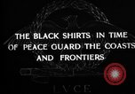Image of Italian Black Shirt Guards Italy, 1929, second 6 stock footage video 65675043260