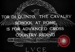 Image of Cavalry officers Rome Italy, 1929, second 9 stock footage video 65675043267