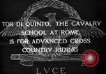 Image of Cavalry officers Rome Italy, 1929, second 10 stock footage video 65675043267