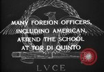 Image of American Cavalry officers Rome Italy, 1929, second 12 stock footage video 65675043269