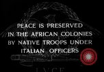 Image of Italian Native troops Italy, 1929, second 1 stock footage video 65675043282