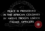 Image of Italian Native troops Italy, 1929, second 2 stock footage video 65675043282