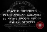Image of Italian Native troops Italy, 1929, second 7 stock footage video 65675043282