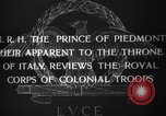 Image of Prince of Piedmont Italy, 1929, second 2 stock footage video 65675043283