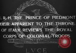 Image of Prince of Piedmont Italy, 1929, second 5 stock footage video 65675043283