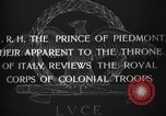 Image of Prince of Piedmont Italy, 1929, second 7 stock footage video 65675043283