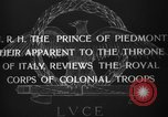 Image of Prince of Piedmont Italy, 1929, second 10 stock footage video 65675043283