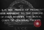 Image of Prince of Piedmont Italy, 1929, second 11 stock footage video 65675043283