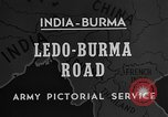 Image of Chinese engineers build Ledo road Burma, 1944, second 2 stock footage video 65675043289