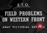 Image of Western Front snow scenes January 1945 in World War II Europe, 1945, second 2 stock footage video 65675043290